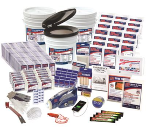 20 Person Ultimate Deluxe Survival Kit - Er™ Emergency Ready