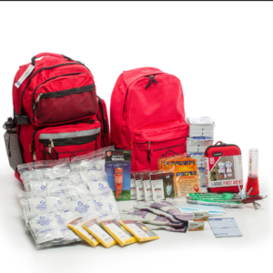 4 Person Premium Survival Kit With 72-hours Of Emergency Preparedness And First Aid Supplies - First My Family