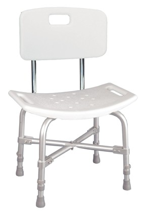 Bariatric Shower Chair, Heavy Duty Back & Handles (12021kd-1) - Medline