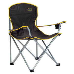 Black Folding Camping Chair - Quik Shade