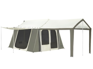 Canvas Cabin Tent, 9 X 12 Ft - Trek Tents