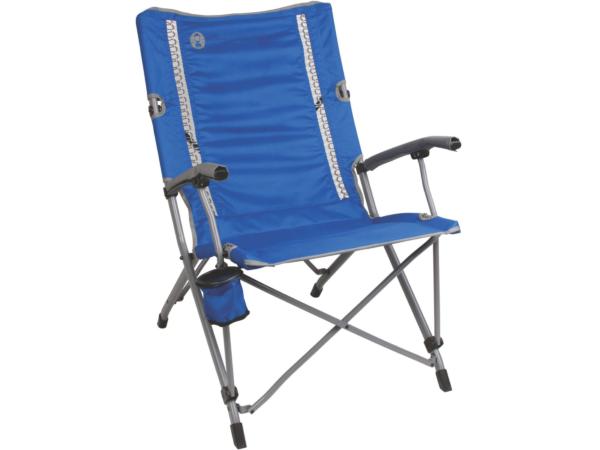 Coleman Comfortsmart Interlock Suspension Camp Chair Polyester Steel