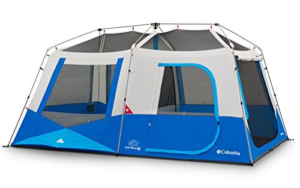Columbia Fall River 8 Person Instant Tent (compass Blue)