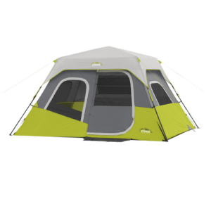 Core Equipment 11' X 9' Instant Cabin Tent, Sleeps 6