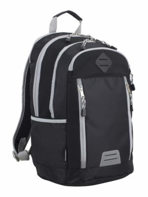 Eastsport Deluxe Mutli-zip Hiking Backpack, School Backpack, Sports Backpack
