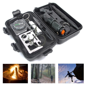Emergency 10-in-1 Outdoor Survival Gear Kit - Asewin