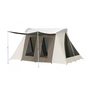 Factory Hot Sale Cheap Price Waterproof Breathable Canvas Cabin Tents For Desert Or Beach