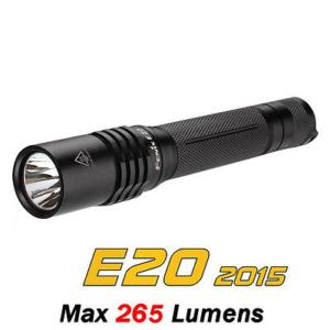 Fenix E20 2015 Edition 265 Lumen Handheld Flashlight