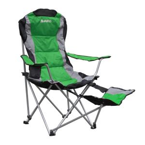 Gigatent Gigatent Ergonomic Portable Footrest Camping Chair (green)