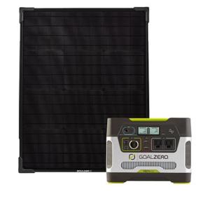 Goal Zero Yeti 400 Power Station With 50w Solar Panel