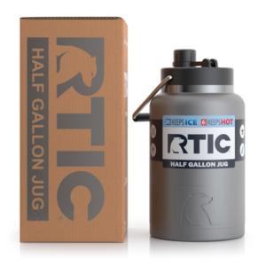Half Gallon Jug, Graphite, Matte - RTIC Outdoors