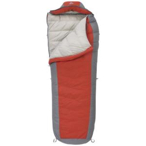 Kelty Coromell 0 Degree Down Sleeping Bag, Gray / Red