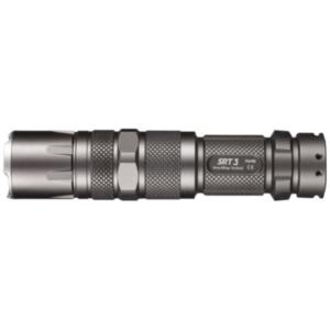 Nitecore Srt3 Defender Cree Xm-l2 Led Flashlight (grey) - Max 550 Lumens / Red / Blue Secondary Strobe Mode With Aa Battery Extension, Holster, Nitecore I2 Charger, Nitecore Nl166 Rcr123 Rechargeab...