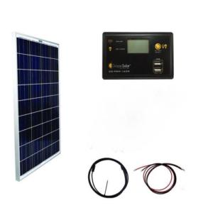 Off-grid Power Kits 12-volt Portable Solar Power Kit - Grape Solar