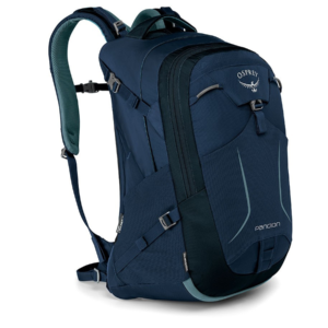 Osprey Pandion 28 Mens Laptop Backpack - Navy Blue