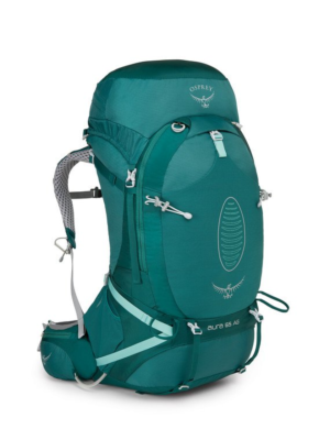 Osprey Womens Aura Ag 65 Rainforest Green Small