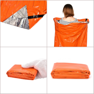 Outdoor Emergency Sleeping Bag Orange Thermal Reflective Survival Blanket Ultralight Body Heat Retention Emergency Tool - AliExpress.com