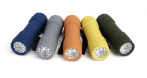 Ozark Trail 10-pack, 9-led Mini Flashlight For Camping