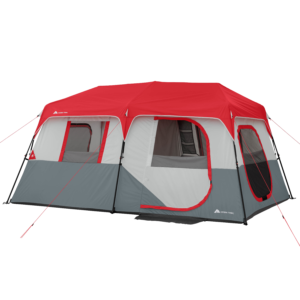 Ozark Trail 8 Person Instant Cabin Tent With Led Lighted Poles And Bluetooth Speaker