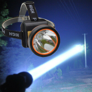 Ozark Trail Rechargeable Lithium Ion Auto-dimming Led Flashlight 1250 Lumens