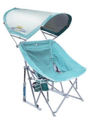 Pod Rocker™ With Sunshade Beach Chair - GCI Outdoor