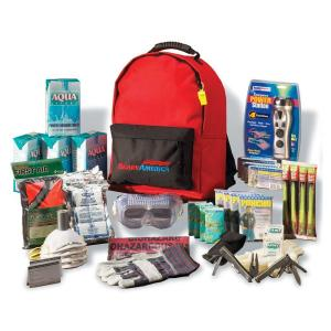 Ready America 4-person 3-day Deluxe Emergency Kit With Backpack