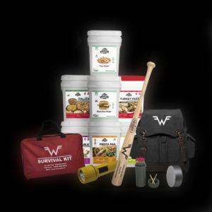 Survival Kit Backpack — Black Metal Hub - Wise Company