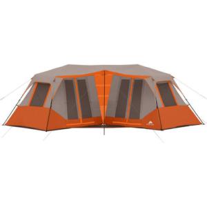Tent-8 Person Double Villa Cabin Tent. Instant Setup. Sleeps