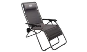 Timber Ridge Zero Gravity Chair Locking Lounge Oversize Recliner Black - Best Choice Products
