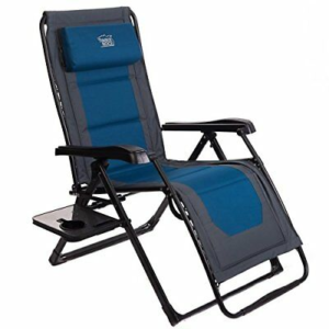 Timber Ridge Zero Gravity Lounger, Aluminum Frame, Supports Up To 350lbs