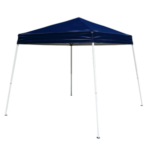 Ubesgoo 10' X 10' Pop Up Canopy Tent Ez Up Portable Uv Coated Outdoor Garden Commercial Instant Tent For Parties Shade Folding With Carry Bag, Blue