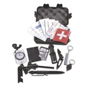 U.s. Municipal Surplus 10 In 1 Emergency Survival Kit, New