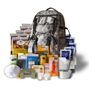 Wise Five Day Emergency Backpack With Food & Water & First Aid For One Person (camo) - Wise Company