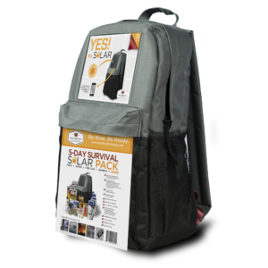 Wise Solar Backpack + 5 Day Survival Kit - Wise Company