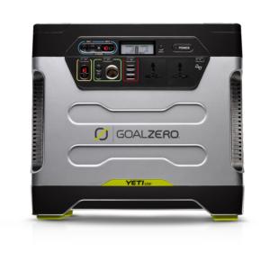 Yeti 1250 Solar Generator, 2 Panel Solar Kit